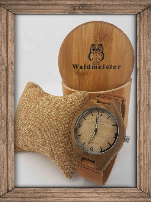 Green Bambus Uhr - Holzuhren Shop Schweiz