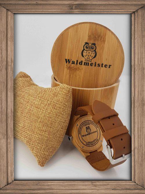 Hirschuhr aus Holz - Holzuhren Schweizer Shop
